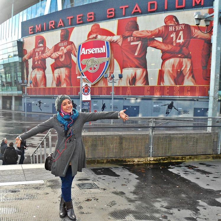 Emirates Stadium baby!