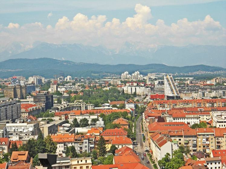 Best view of Ljubljana :)