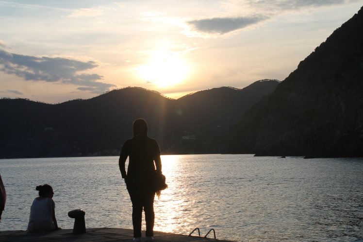 Vernazza sun set, one of the best ones I ever wittnessed..