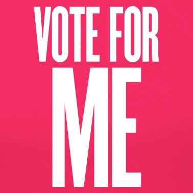 pink-vote-for-me-t-shirts_design